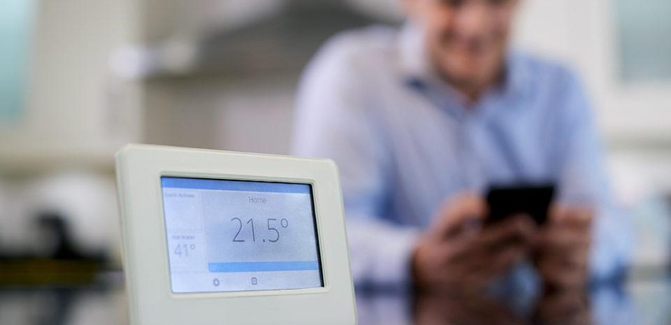 thermostat sans fil chauffage connecté