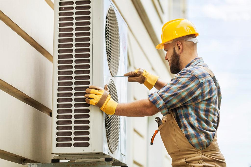 Pompe à chaleur air eau unité extérieur