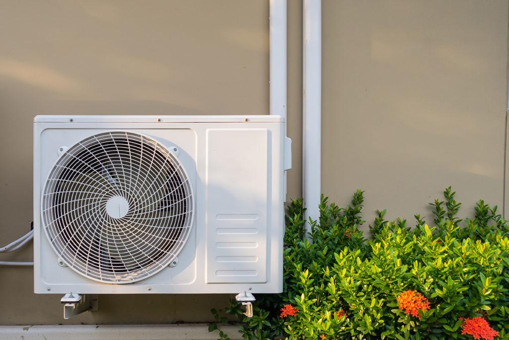 Extracteur d'air pompe à chaleur air eau air air (PAC) chauffage dijon