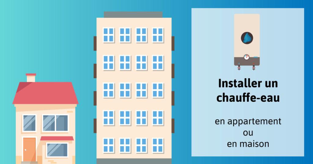 Installer-chauffe-eau-appartement-ou-maison