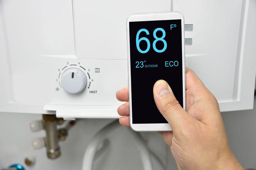 Les informations recueillies par un thermostat connecté