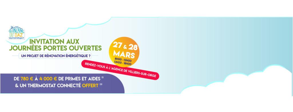 Journée Portes Ouvertes les 27 et 28 Mars 2020