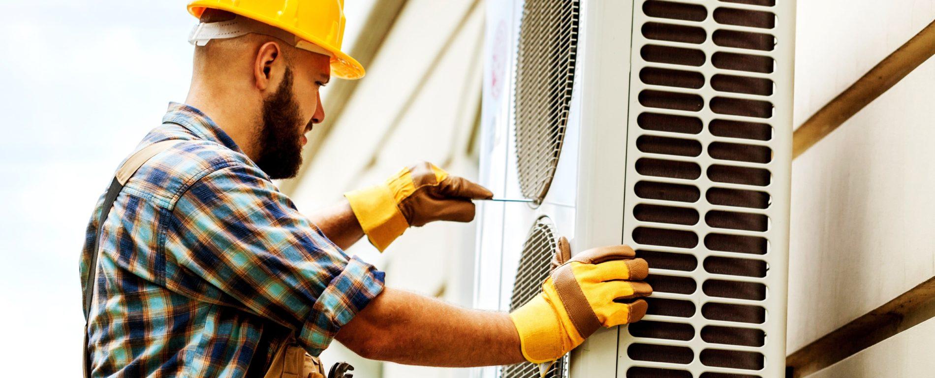 Installation remplacement d'une chaudière au fioul par une pompe à chaleur PAC air eau