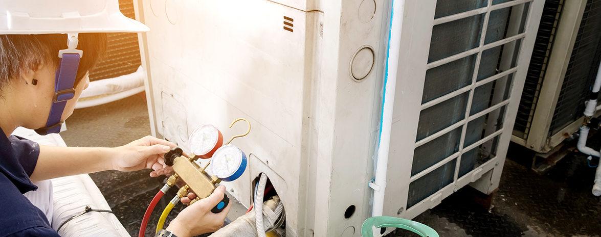Entretien d'une pompe à chaleur PAC air eau par ADAG CALADOISE Lyon