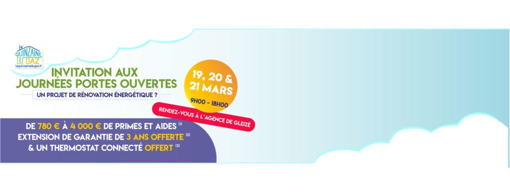 Portes Ouvertes ADAG Gleizé : 19 20 & 21 Mars 2020