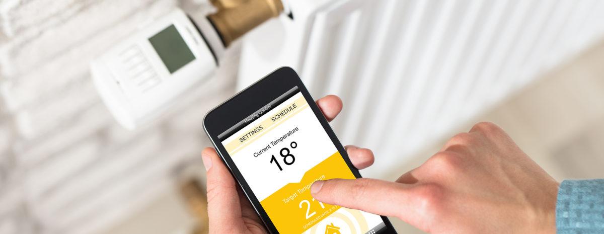 thermostat connecté ; équipement, accessoires chauffage