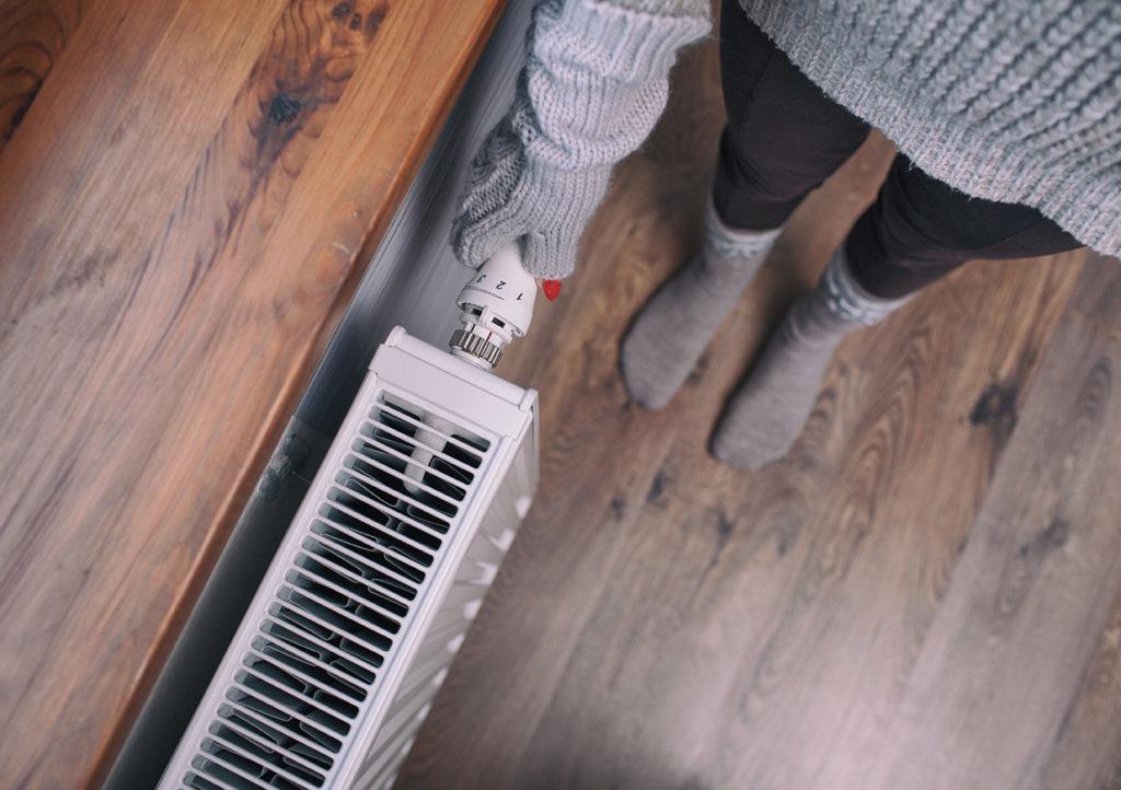 Faire des économies d'énergies de chauffage chaudière en hiver