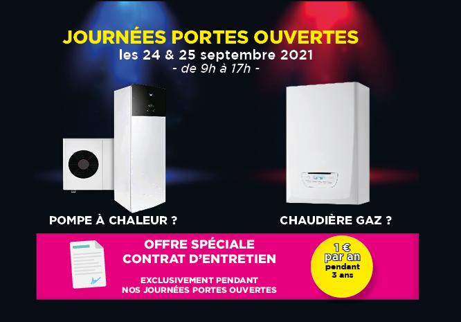 Portes Ouvertes BF-DEPANNAGE Saint-Vallier le 24 et 25 septembre 2021